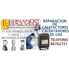 Reparaciones de calefactores calentadores de gas - Calentadores de gas precios ...