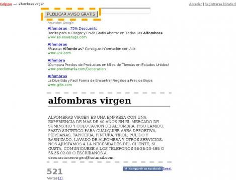 Alfombras virgen ciudad de m xico distrito federal Alfombras persas en mexico