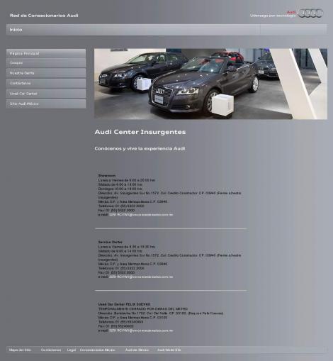 Audi Center Insurgentes
