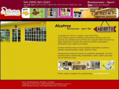 Alcatraz for Alcatraz fine mexican cuisine