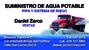 Suministro De Agua Potable (Pipa)