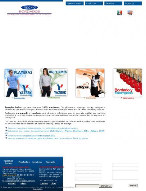 • Tecnobordados • Cuernavaca • Morelos • http   tecnobordados.com.mx  06fa728759b