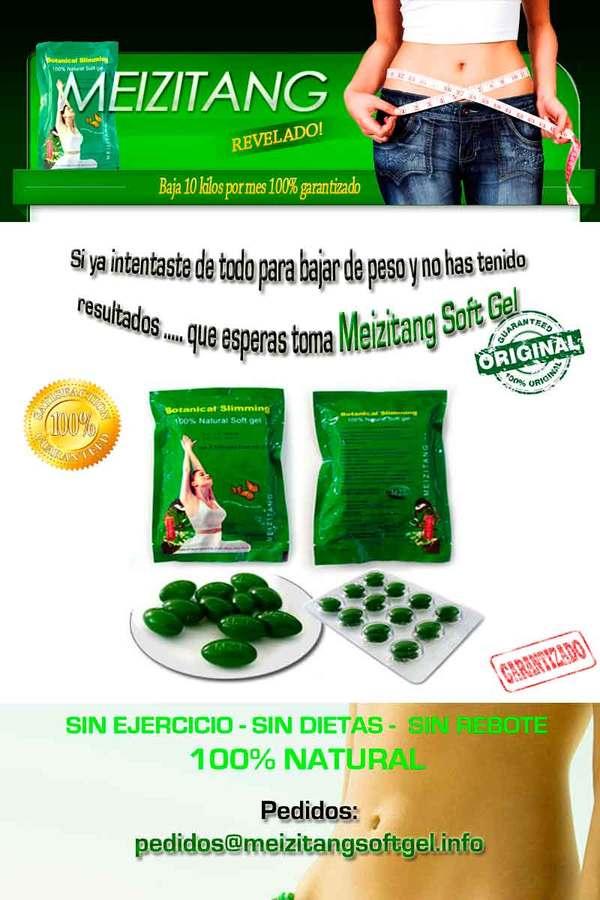 Adelgazar para pastillas meizitang verdes