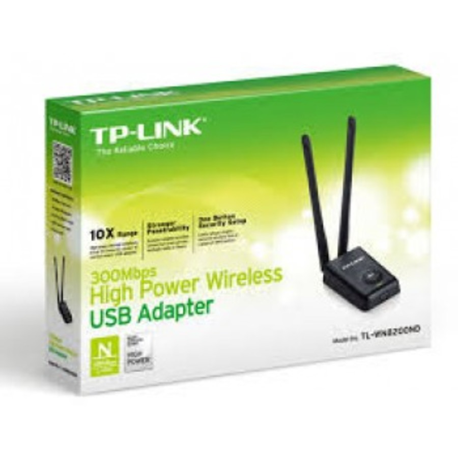 Antena Wifi Tp Link Rompe Muros Doble Antena 300mbpstp link