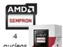 AMD KABINI SEMPRON 3850 4 NUCLEOS 1.3 GHZ 2MB 25W S-AM1 VIDEO HD 8280 CAJA