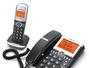 8117 Paquete de un teléfono de escritorio y una extensión inalámbrica DECT