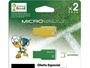 2 PACK MEMORIA FLASH 8 GB USB 2.0 BRASIL/AMARILLO Y VERDE/FILE RESCUE/EDICION ESPECIAL BRASIL 2014