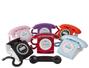 8006 Teléfono de escritorio retro con identificador de llamadas