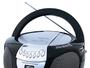 8958 Reproductor de CD/MP3 portátil con radio AM/FM